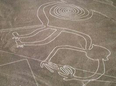 Mystery lines in the Nazca desert