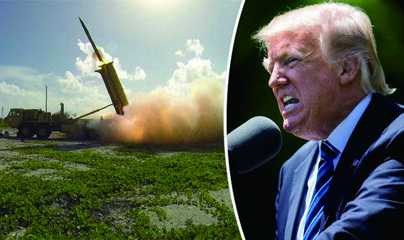 Who is to pay for Thaad?