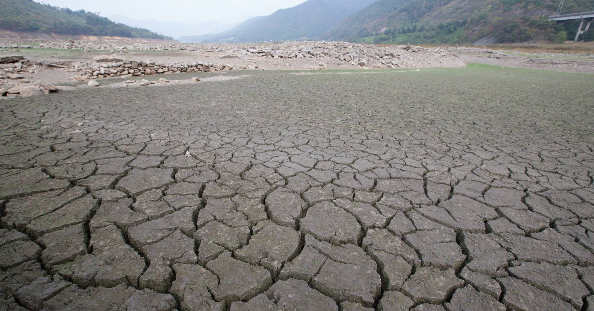 The worst drought hits the country heavily