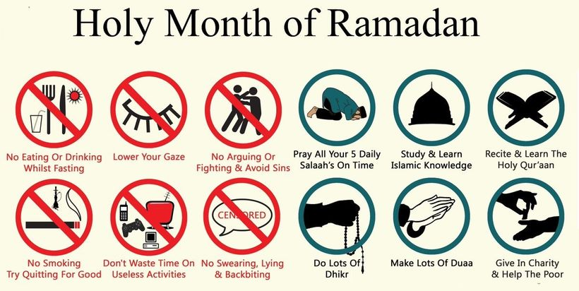 Happy Ramadan; A Journey of Fasting