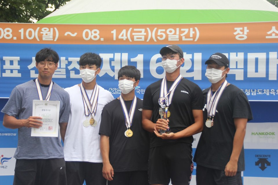 CWNU Student, Lee Jun-young, Wins Three Gold Medals at the National Canoe Competition